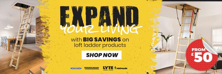 Loft ladders sale