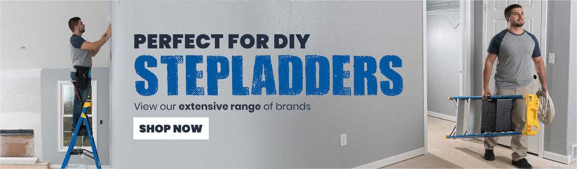 Stepladders sales banner